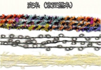 変糸(意匠撚糸)